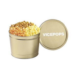 3 Way Popcorn Tins - (1.5 Gallon)