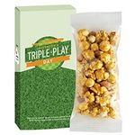 Custom Game Day Caramel Corn & Peanuts in Custom Box