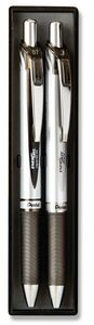EnerGel Deluxe Pen & Pencil Gift Set - Black