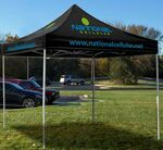 10' Square Event Tent Full-Color Dye Sublimation (6 Locations)