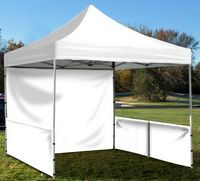 Event Tent Full Wall ONLY - PLAIN / NO Imprint
