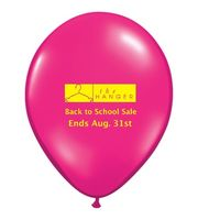 "11"" Qualatex Round Jewel/ Fashion Color Latex Balloon"