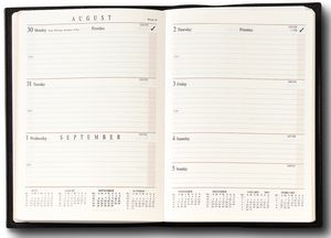 Large Bound Weekly Planner