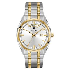 Custom Bulova Watches Men's Day-Date Classic Collection Bracelet