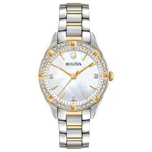 Custom Bulova Watches Ladies Sutton Bracelet from the Classic Collection