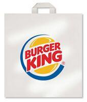 "Plastic Soft Loop Handle Bag (13"" x 15 1/2"" x 4"")"