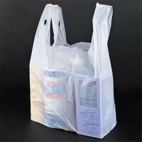 "Custom Printed T-Shirt Bag (11.5"" x 6.5"" x 21"")"
