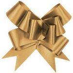 Custom Metallic Flora Satin Pull Bow (4 1/2
