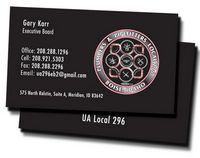 "Business Cards Printed 2 Sides (2""x3 1/2"")"