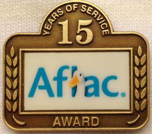 Lapel Pin Service Awards, Die Struck with Digital Imprint 1- Antique Bronze