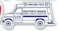 Full Color Ambulance Shaped Magnetic Note-Holder