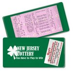 Custom Lottery Ticket Coupon Holder (8 7/8