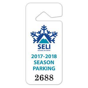 Rear View Mirror Parking Tag 2 875 X 6 75 Rvm 40 Ideastage