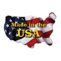 Full Color Stock US States Shaped Magnetic Note-Holder