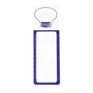White/Blue Lightbulb Blank
