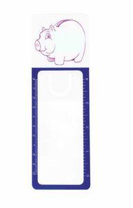 White/Blue Pig Blank