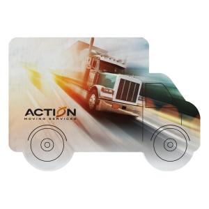 Dye Sublimated Truck Shaped Coaster