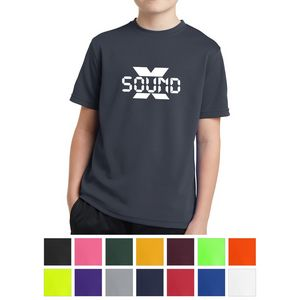Sport-Tek Youth PosiCharge RacerMesh Tee