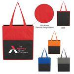 Custom Non-Woven Bounty Shopping Tote Bag