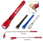 Custom Telescopic Aluminum Flashlight With Magnet