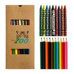 19 Piece Crayon And Pencil Set