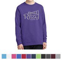 Port & Company® Youth Long Sleeve Core Cotton T-Shirt
