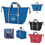 Custom Husky Kooler Tote Bag