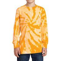 Port & Company® Youth Tie-Dye Long Sleeve Tee