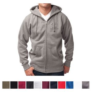 f641b6484159 Independent Trading Company Men s Independent Heavyweight Zip Hooded  Sweatshirt - IND4000Z - IdeaStage Promotional Products