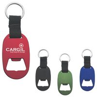 Metal Key Tag With Bottle Opener