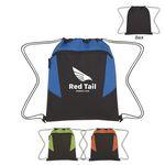 Custom Tahoe Heathered Drawstring Backpack