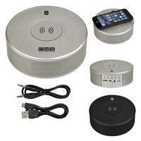 Orbit Alarm Clock Speaker & Power Bank