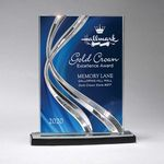Custom Small Sweeping Ribbon Award