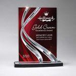 Custom Small Ribbon Award