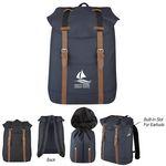 Custom Flap Drawstring Backpack