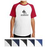 Custom Sport-Tek Youth Short Sleeve Colorblock Raglan Jersey