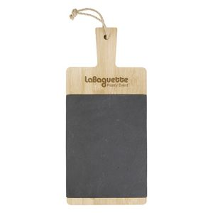 Custom Bamboo & Slate Charcuterie Cutting Board