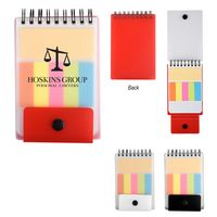 Spiral Jotter With Adhesive Notes & Flags