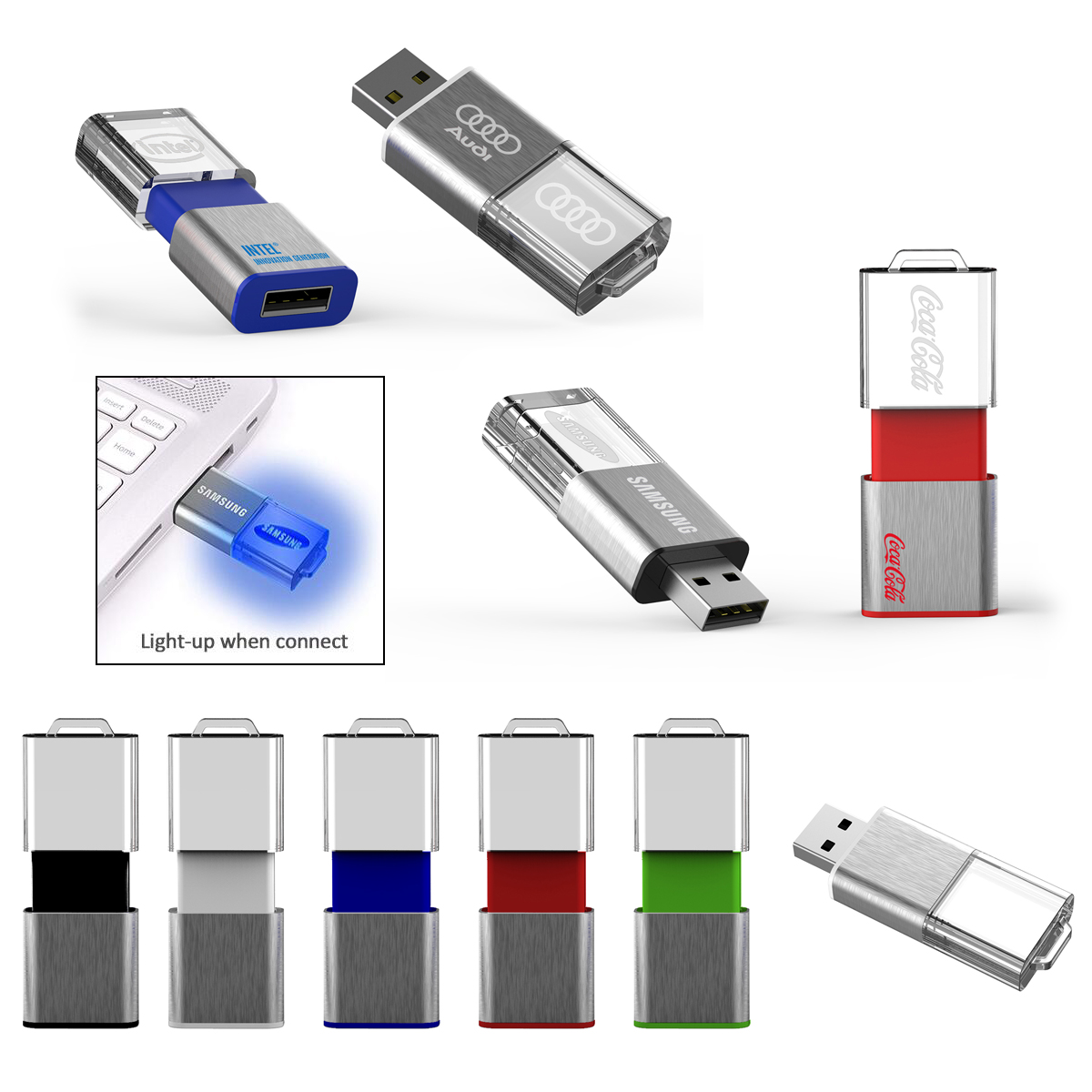 Light Up Slide USB