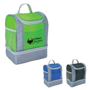 Two-Tone Kooler Lunch Bag
