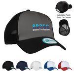 New Era® Snapback Contrast Front Mesh Cap