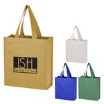Custom Monroe Mini Non-Woven Glitter Tote Bag