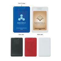 .66 Oz. Card Shape Hand Sanitizer