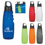 Custom 24 Oz. Crest Carabiner Sports Bottle