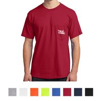Port & Company® All-American Tee With Pocket