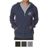 Independent Trading Company Men's Lightweight Jersey Zip Hood