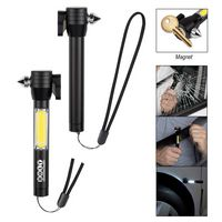Safety Tool With COB Flashlight
