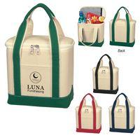 Small Cotton Canvas Cooler Bag