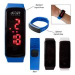 Custom Rectangle Unisex Digital LED Watch