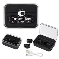2-In-1 Wireless Earbuds With Ul Listed Power Bank